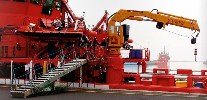 6 m. gangway for ESVAGT