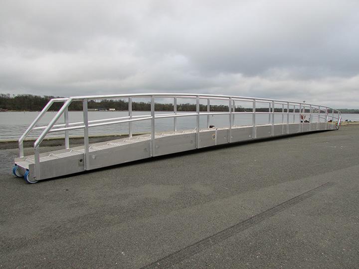 18 m. gangway for 'Gunhild Kirk'