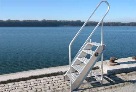 Lønningstrappe, Lønningstrapper, Bulwark Ladder, Bulwark Ladders
