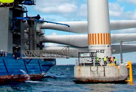 Offshore Landgange fra Lemvig Maskin- & Køleteknik